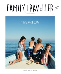 Family Traveller launch issue cover