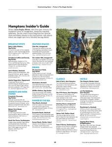 Hamptons Food & Wine